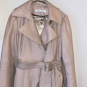 Kenneth Cole belted trench coat